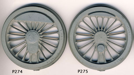 Driving wheel castings