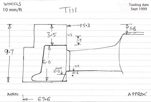 Casting Diagram  T111
